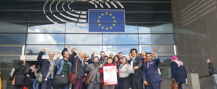 RAIR EXCLUSIVE: American Marxists Unite in EU Parliament to form Global Communist Alliance