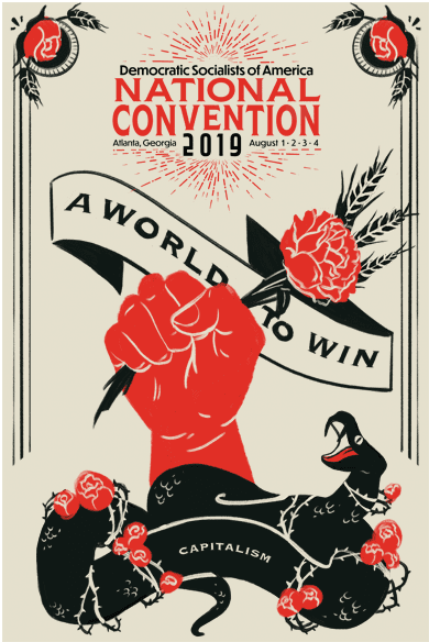 DSA Convention propaganda poster
