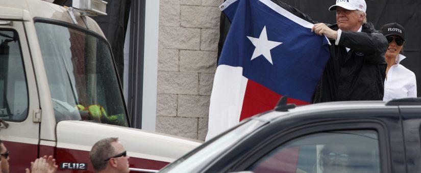 2017 HARVEY FLASHBACK: Trump Visits Texas, Donates $1M, Secures Billions in Relief, Media Still Trashed Him
